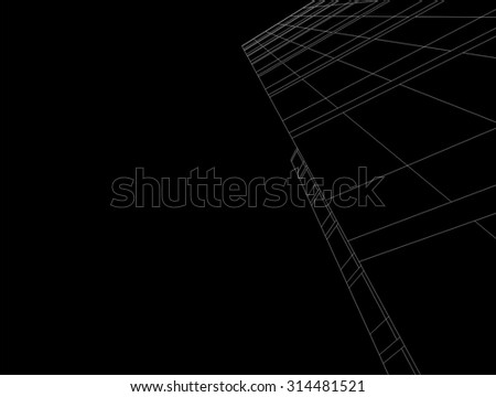 Architecture building. Design background