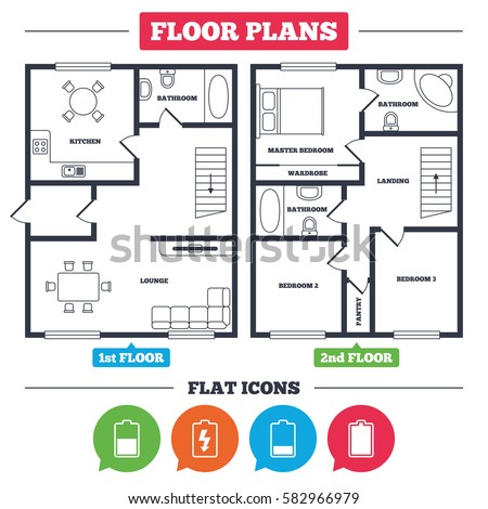 Floor Plan Icons Stock Images Royalty Free Images