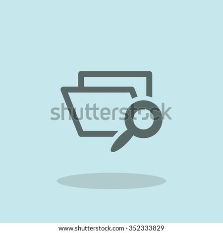 Archive icon - stock vector