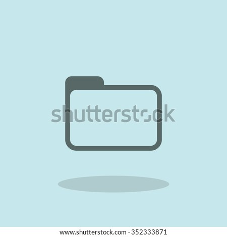 Archive pictogram - stock vector