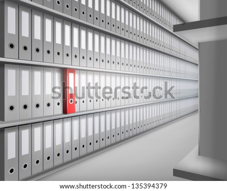 Archive. Vector illustration. - stock vector