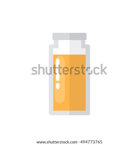 aroma oil bottle icon. essential oil. vector illustration