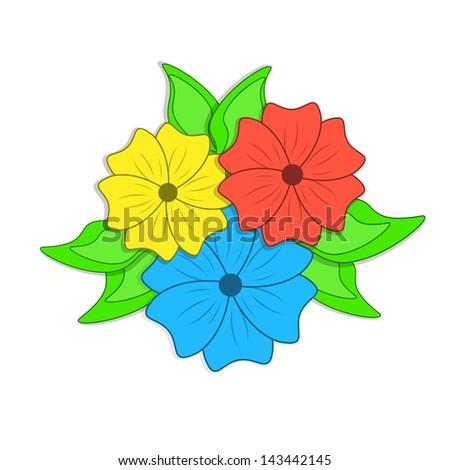 Макет цветов