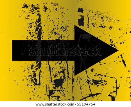 arrow - stock vector