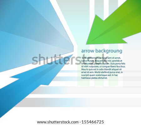 arrow design - stock vector