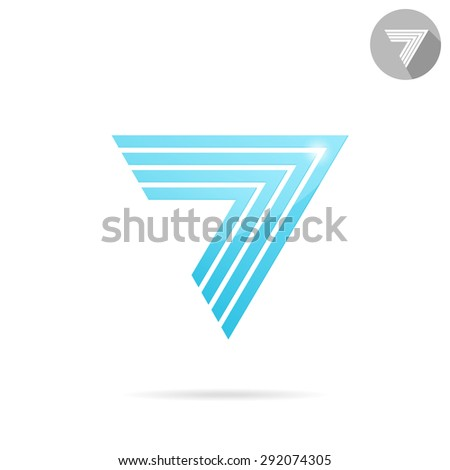 Arrow logo templ...D Arrow Logo