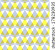 Arrow pattern including seamless sample in swatch panel - stock