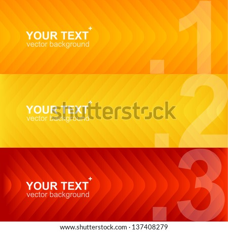 Arrow speech templates for text - stock vector
