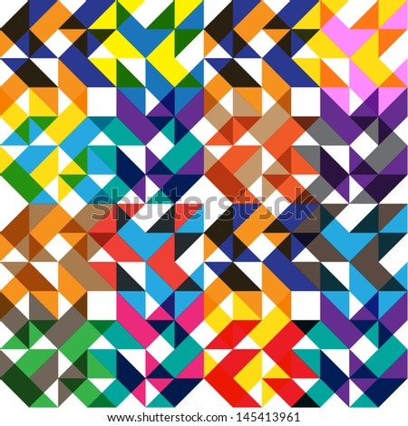 Arrow Symphony - stock vector