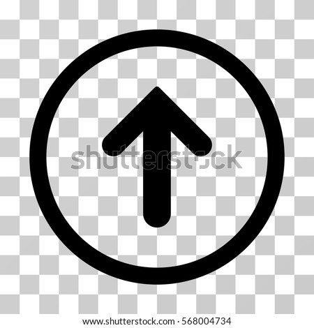 Arrow rounded icon vector illustration style stock vector royalty arrow up rounded icon vector illustration style is flat iconic symbol inside a circle altavistaventures Gallery