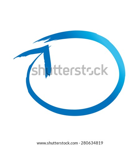 Arrow vector icon (logo, sign)