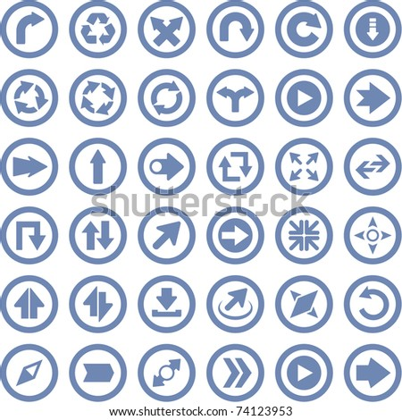 Arrows. Great collection. - stock vector