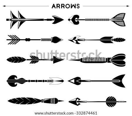 arrows, hipster, indian style arrows