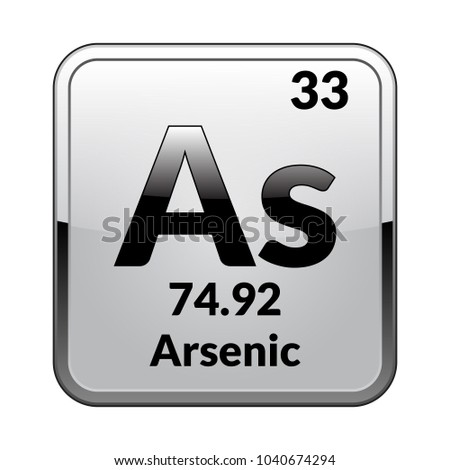 Arsenic symbolchemical element periodic table on stock vector arsenic symbolchemical element periodic table on stock vector 1040674294 shutterstock urtaz Image collections