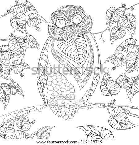 Anti Stress Book Colored Coloring Pages