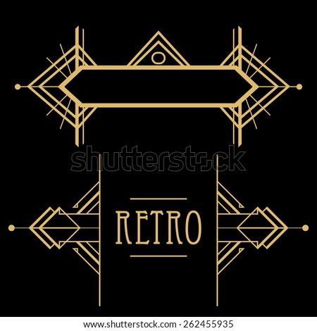 art deco pattern stock images royalty free images vectors shutterstock. Black Bedroom Furniture Sets. Home Design Ideas