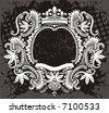 art frame - stock vector