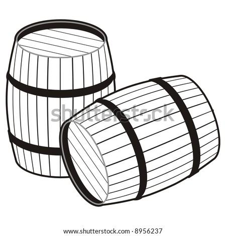 Whiskey Barrel Stock Vectors & Vector Clip Art | Shutterstock