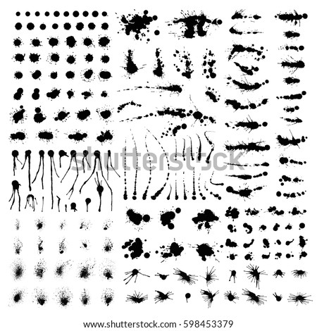 Arti stock images royalty free images vectors shutterstock arti black brush silhouette stroke dots bulbes vector set isolated on white design presets templates stopboris Gallery