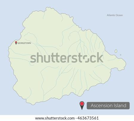 Ascension Island Stock Images RoyaltyFree Images Vectors - Ascension island google map