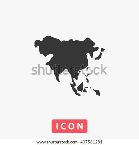 Asia Icon. Asia Icon Vector. Asia Icon Art. Asia Icon eps. Asia Icon Image. Asia Icon logo. Asia Icon Sign. Asia Icon Flat. Asia Icon design. Asia icon app. Asia icon UI. Asia icon web - stock vector