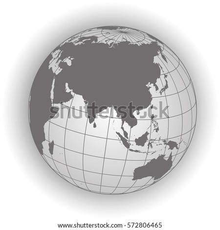 Europe africa map europe africa russia vectores en stock 357416996 asia map australia russia africa north pole earth globe worldmap gumiabroncs Choice Image