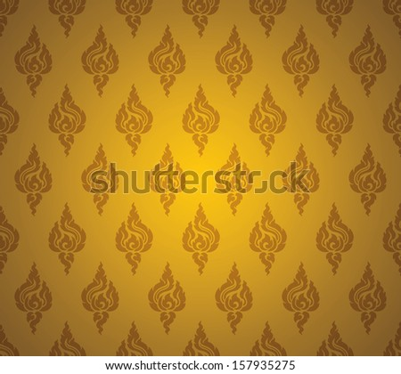 Asian art abstract background. - stock vector