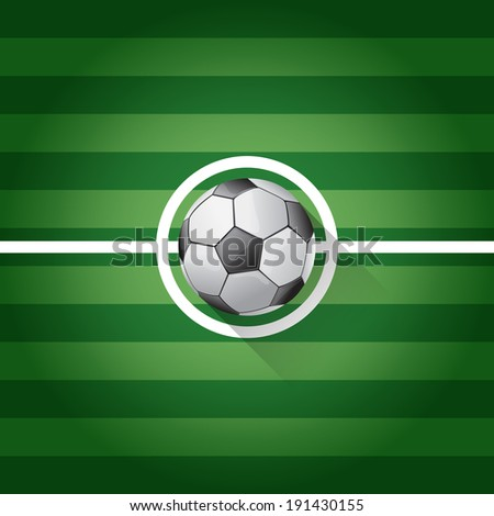 Association football, commonly known as football or soccer, is a sport played between two teams of typically eleven players, the game was played by over 250 million players in over 200 countries - stock vector
