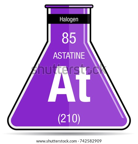 Astatine stock images royalty free images vectors for Periodic table 85