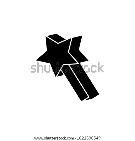 stock-vector-asterisk-in-play-icon-eleme