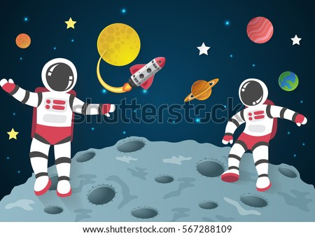 Astronaut In Space Stock Images, Royalty-Free Images ...
