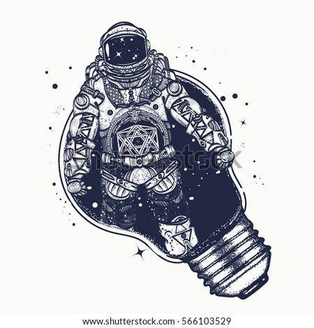 M Rank Astronaut In A Light Bulb