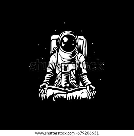 Astronaut Isolated Sto...