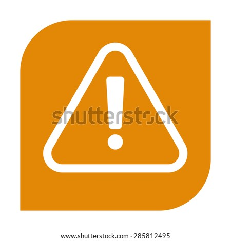 Attention icon. - stock vector