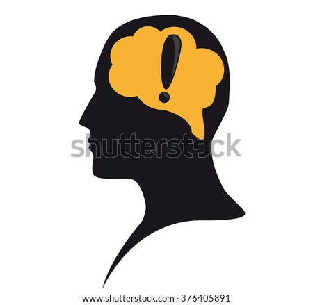 Attention sign - stock vector