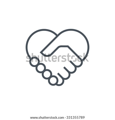 Attracting customers, love icon suitable for info graphics, websites and print media. Colorful vector, flat icon, clip art. - stock vector