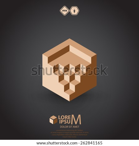 Auditorium logotype. Vector illustration - stock vector