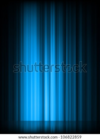 Aurora Borealis. Colorful abstract background. EPS 8 vector file included - stock vector