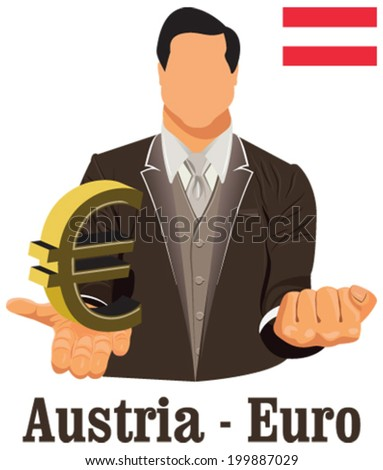 Finland National Currency Euro Symbol Euro Stock Vector 199745240
