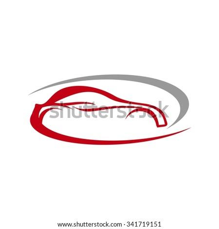 Auto Car Racing Logo template - stock vector