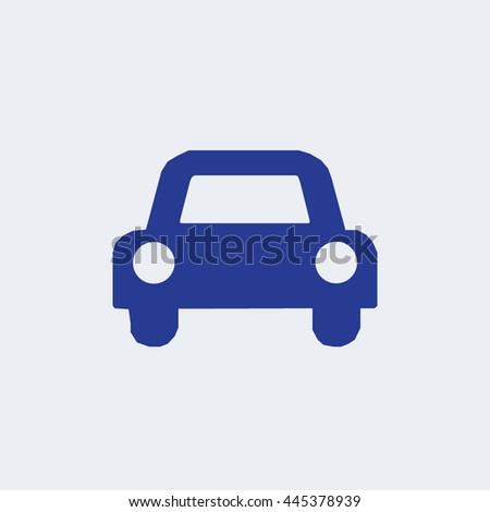 Auto icon, car icon, transport icon - stock vector