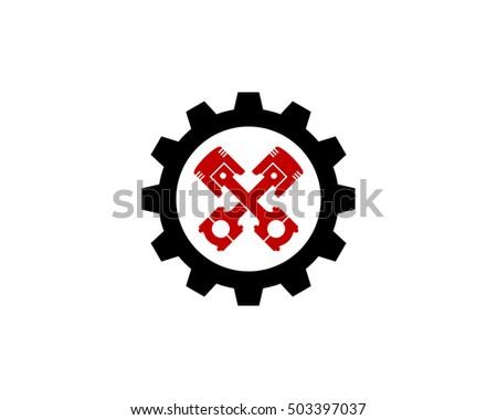 auto repair automotive logo design template stock vector hd royalty rh shutterstock com  car repair logo template