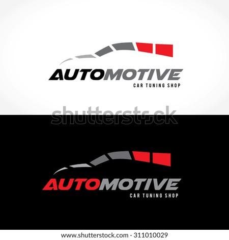 Automotive logo,Car logo,Speed,auto services logo,car care logo,Vector Logo Template. - stock vector