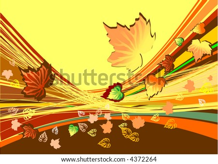 Autumn abstract background (image can be used for printing or web)