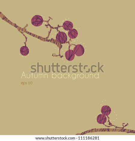 Autumn Background / Autumn Berry