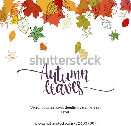 autumn leaves templates
