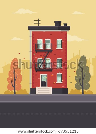 brownstones stock vectors images vector art shutterstock. Black Bedroom Furniture Sets. Home Design Ideas