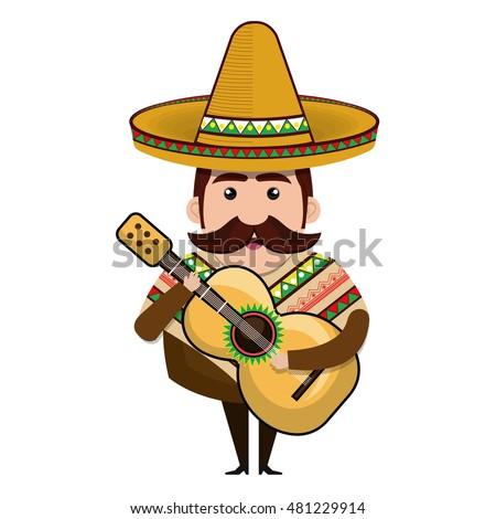 avatar mexican man cartoon