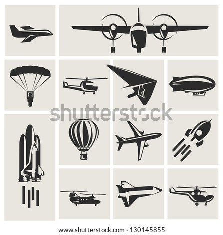 aviation - stock vector