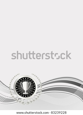 award design - stock vector